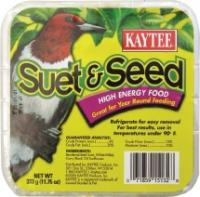 Kaytee Products KT15132 11.75 Oz Suet And Seed