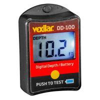 Vexilar Digital Depth and battery gauge