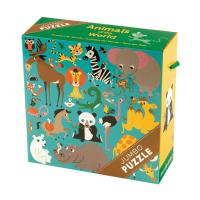 Chronicle Books Animals of the World Jumbo Puzzle - 25 pcs