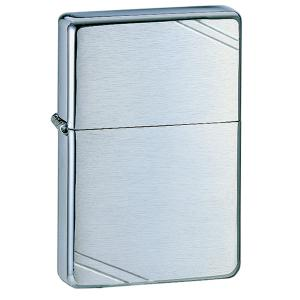 Zippo Vintage Brush Finish Chrome