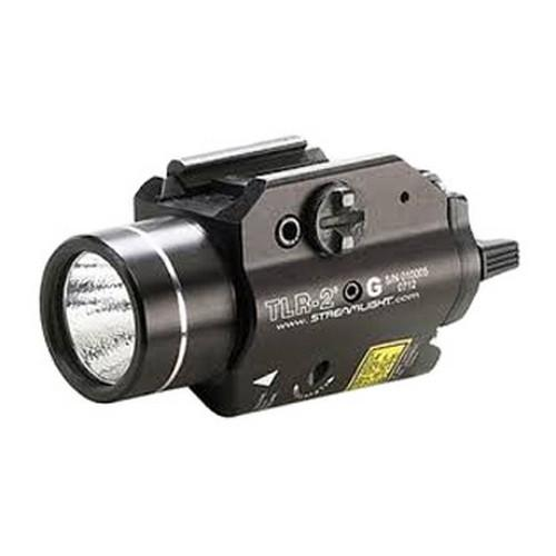 Streamlight TLR-2 G Rail Mounted Strobing Tactical Light w/ Green Laser Sight