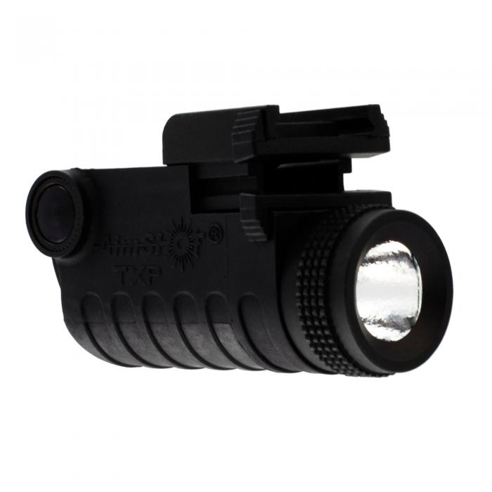 Pistol LED light RailMt RechargeableBatt