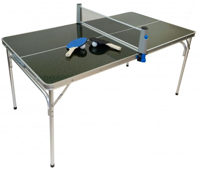 Portable Mini Ping Pong Table with Accessories