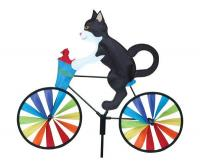 Premier Designs 20 inch Tuxedo Cat Bicycle Spinner