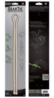 2012 NITE IZE Gear Tie 32''-Desert Tan 2pk