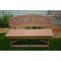 Bird's Choice Classic Bench-camel