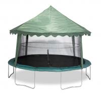 Bazoongi Kids 14' Solid Green Canopy(canopy Cover Only)