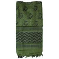 Shemagh Head Wrap, Wild Hog, Olive Drab/Black