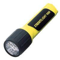 Streamlight 4AA Luxeon White LED Light with Yellow Body