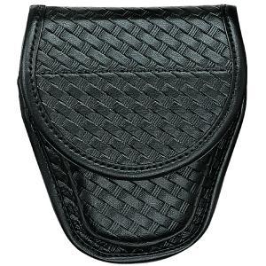 Bianchi 7900 Accumold Elite Covered Cuff Case, B/W, Blk, Hidden Snap
