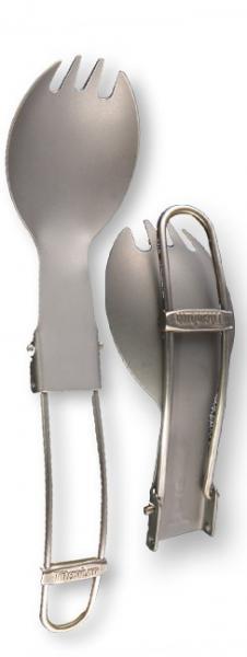 CampCo Spork Titanium Spoon & Fork Combo