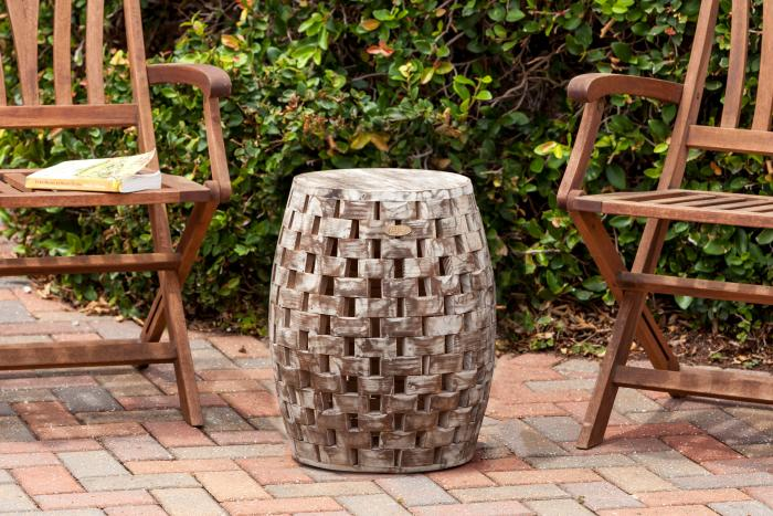 Fire Sense Maya Oval Garden Stool