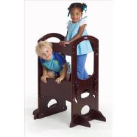 Little Partners Learning Tower, Children's Step Stool, Dark Cherry