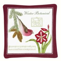 Alice's Cottage Purple Finch Single Mug Mat