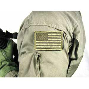 Blackhawk Product Group Patch, American Flag, Subdued w/Velcro