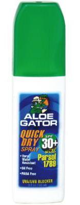 Aloe Gator SPF 30 Quick Dry Sunscreen