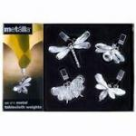 Prodyne Garden Dwellers Tablecloth Weights - Set Of 4