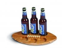 "Picnic Plus Football Shaped Beer ""huddle"" Tray"