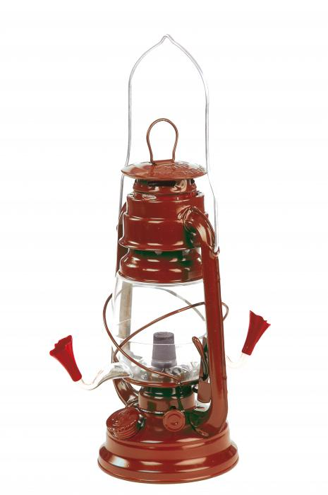 Outside-Inside Hurricane Lantern Hummingbird Bird Feeder
