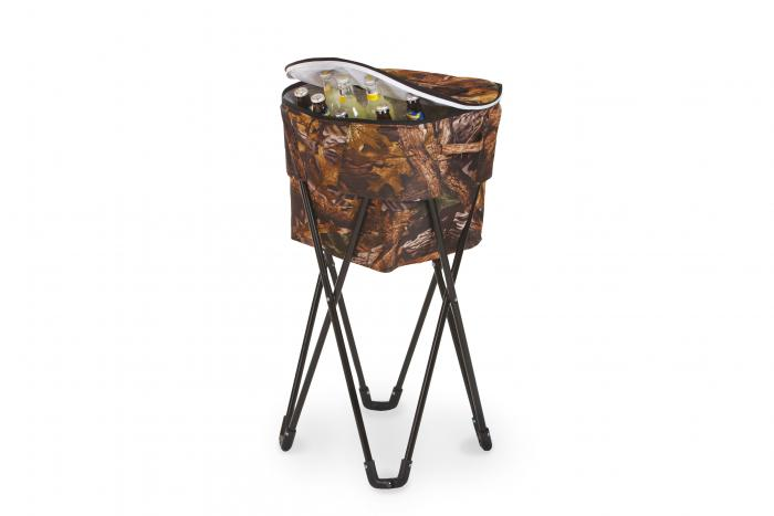 Picnic Plus Insulated Tub Cooler with Stand - Camouflage