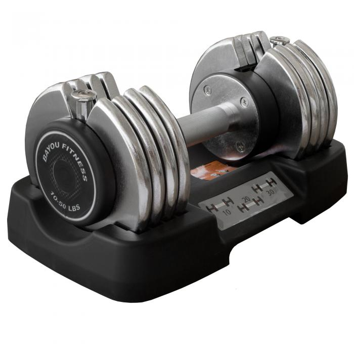 Bayou Fitness 50 lb. Adjustable Dumbbell BF-0150