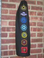 Kush Oasis Chakra Embroidered Drawstring Yoga Bag
