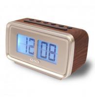 Jensen Jcr232 Am Fm Dual Alarm Clock Radio with Digital Retro Flip Display