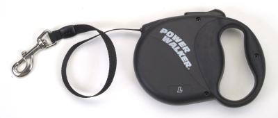 Coastal Pet Products 8702 Power Walker Retractable Lead, Black - Large