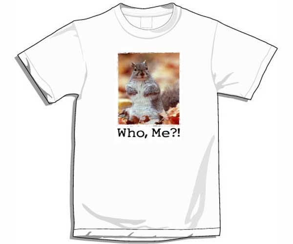 "Songbird Essentials XXXLarge ""Who Me?"" T-Shirt"