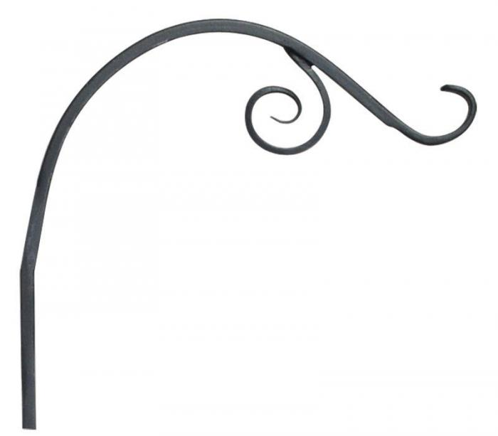Panacea 12 inch Forged Vine Bracket Black
