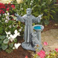 Design Toscano St. Francis's Blessing Garden Statue