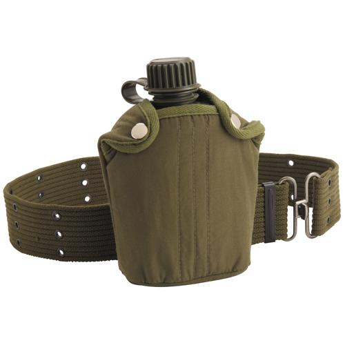 Canteen with Cover and Belt