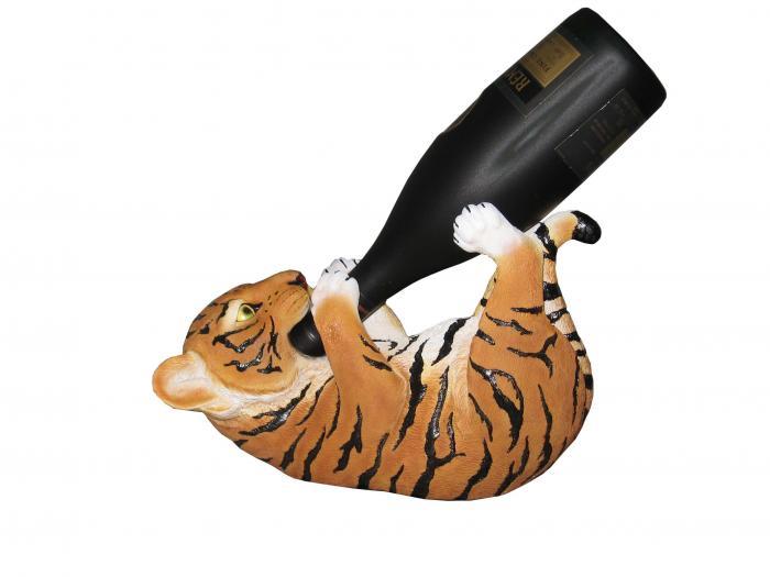 DWK Orange Tiger Wine Holder