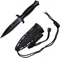 Renegade Tactical Steel M1OPS Boot Knife Fire Strike, RT165