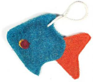 Loofah Art Tropical Fish
