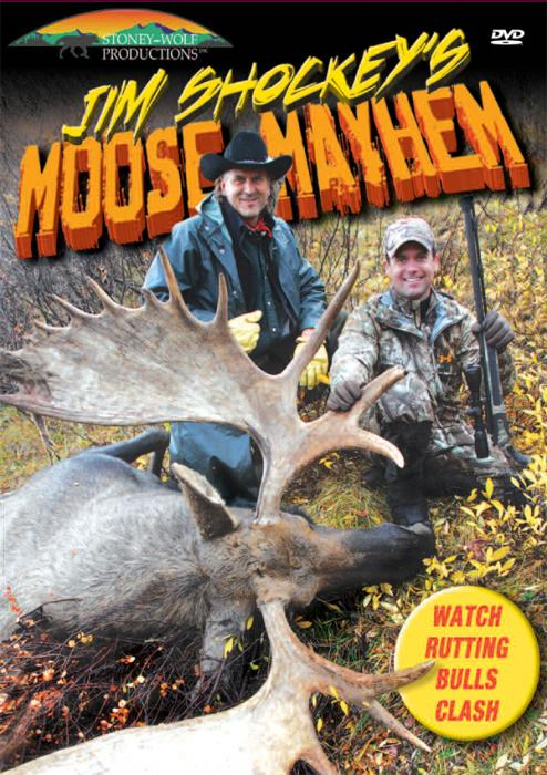 Stoney-Wolf Jim Shockey's Moose Mayhem DVD