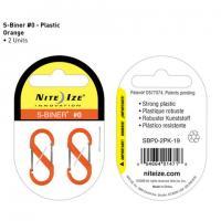 Nite-ize S-Biner, Plastic, Size 0, Orange