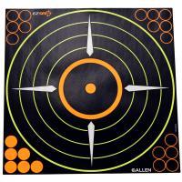 EZ See Adhesive Round Bullseye Targt 5/pk