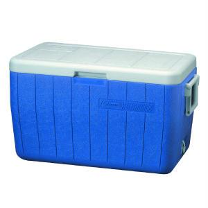 Coleman 48 Quart Poly-Lite Cooler (Blue)