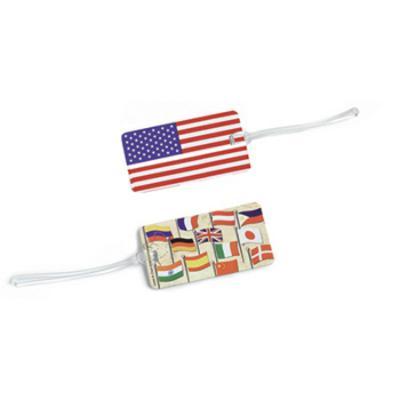 Lewis N. Clark American Flag Tag