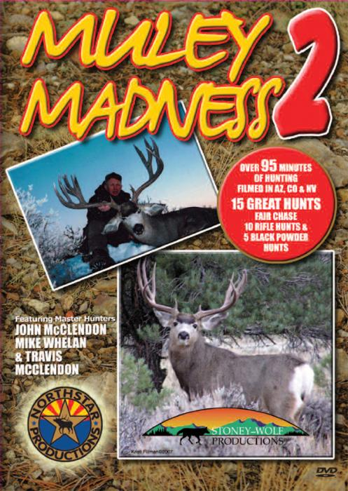 Stoney-Wolf Muley Madness 2 DVD