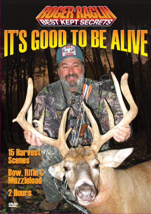 Stoney-Wolf Roger Raglin It's Good To Be Alive - DVD