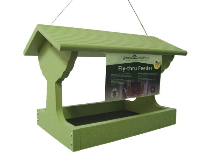 Green Solutions Fly Thru Bird Feeder