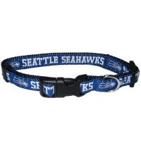 Seattle Seahawks NFL Dog Collar - Small