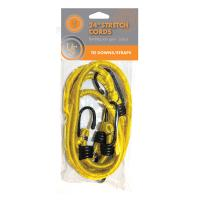 "Stretch Cord - 24"" 2-pack, Yellow"