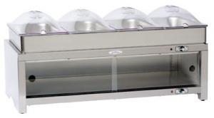 BroilKing Family Size 4-Pan Buffet Warming Cabinet