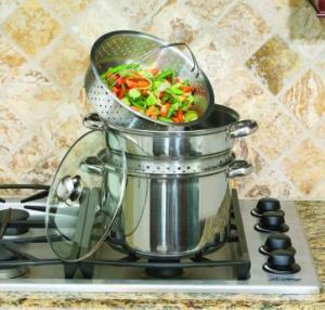 Cookpro Multi Cooker 8Qt 4 Piece Stainless Steel