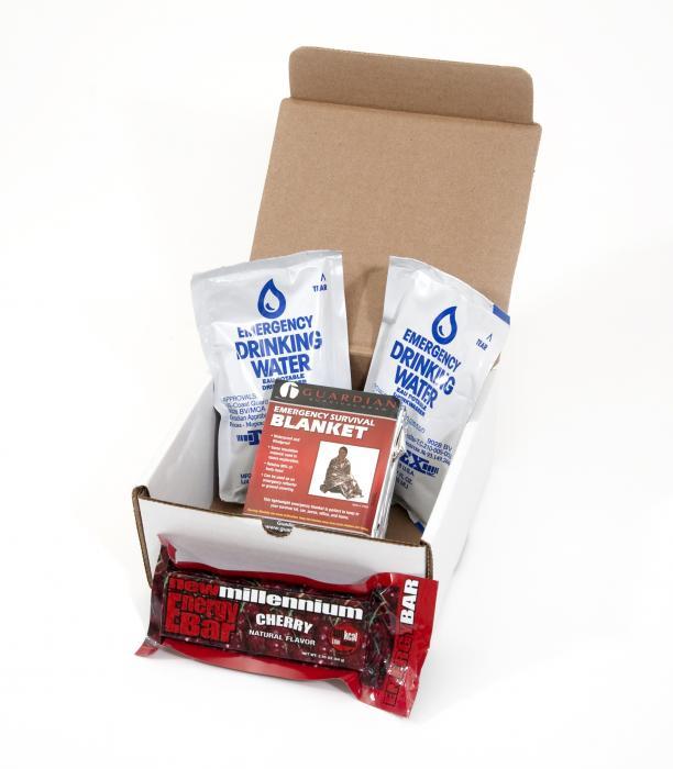 Guardian Survival Gear 1 Day Box Survival Kit