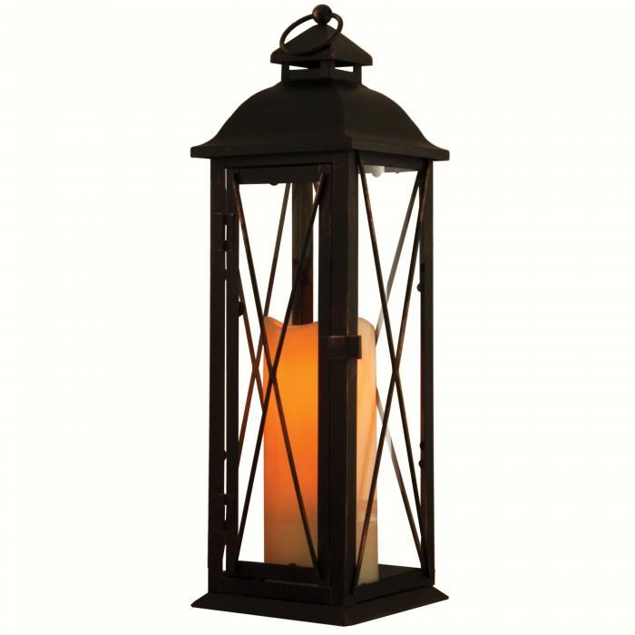 Smart Solar Siena LED Candle Lantern