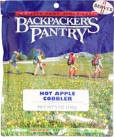 Backpacker's Pantry Hot Apple Cobbler - Serves 2